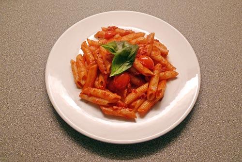Penne All'Amatriciana &copy, La Cucina