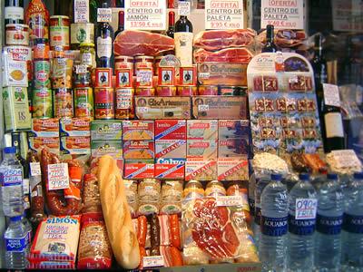 Etenswaren in Madrid ©, La Cucina