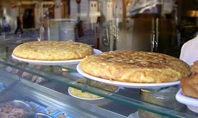 Tortillas in Madrid ©, La Cucina