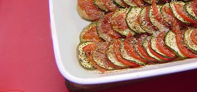 Tian de courgettes et tomates | &copy, La Cucina