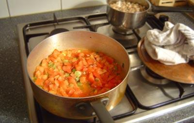tomatensaus - &copy, La Cucina