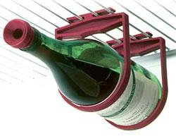 Koelkast flessenhouder